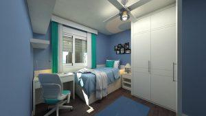 כשהילד מתבגר: עיצוב חדר נוער בסגנון מודרני